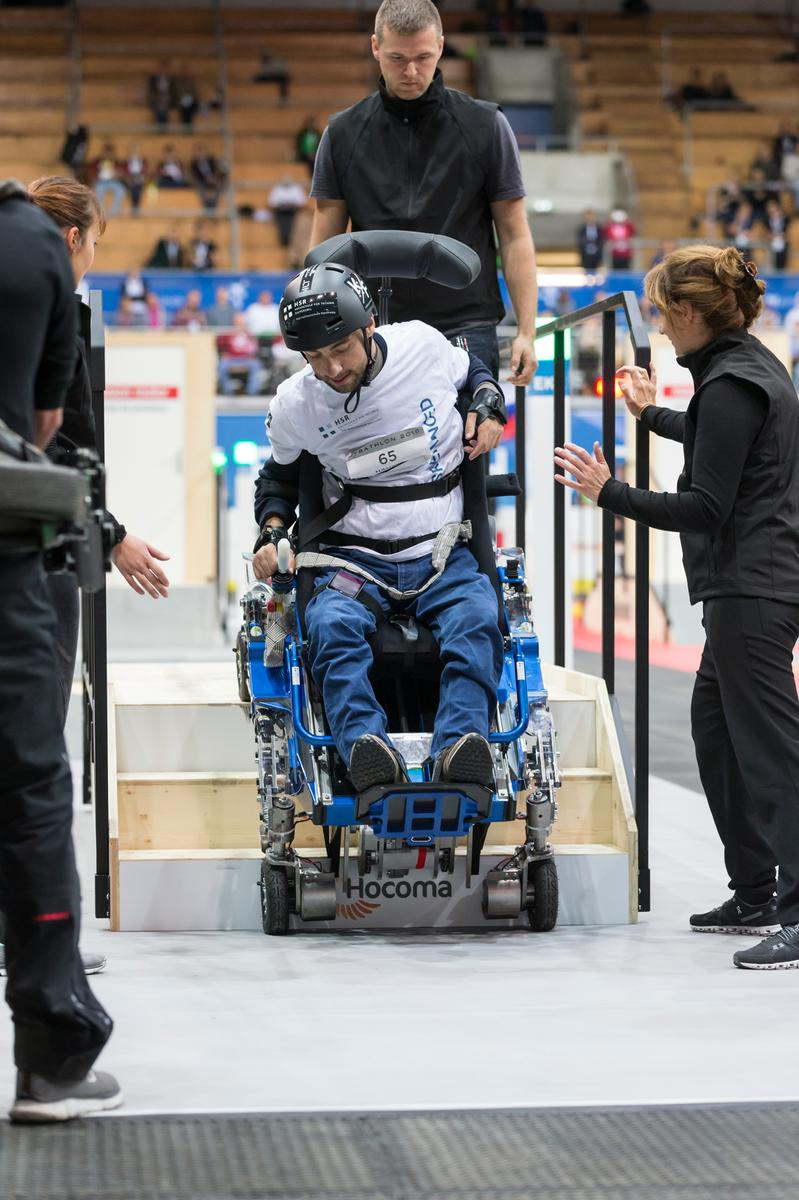 HSR Enhanced Cybathlon